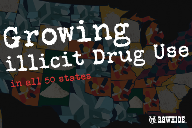 Growing illicit drug use in all 50 states